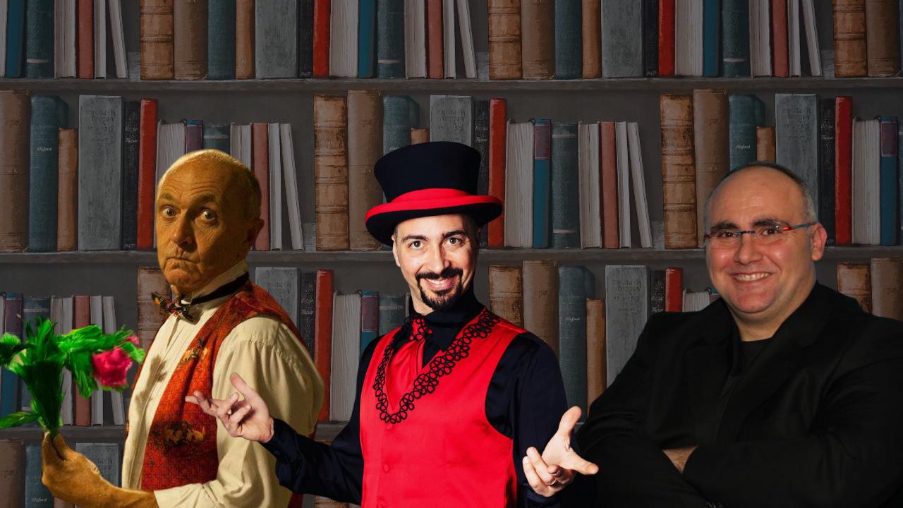 Come nasce la maschera comica: Domenico Lannutti a Cultura Magica